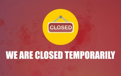 We Are Closed Again Due to COVID-19